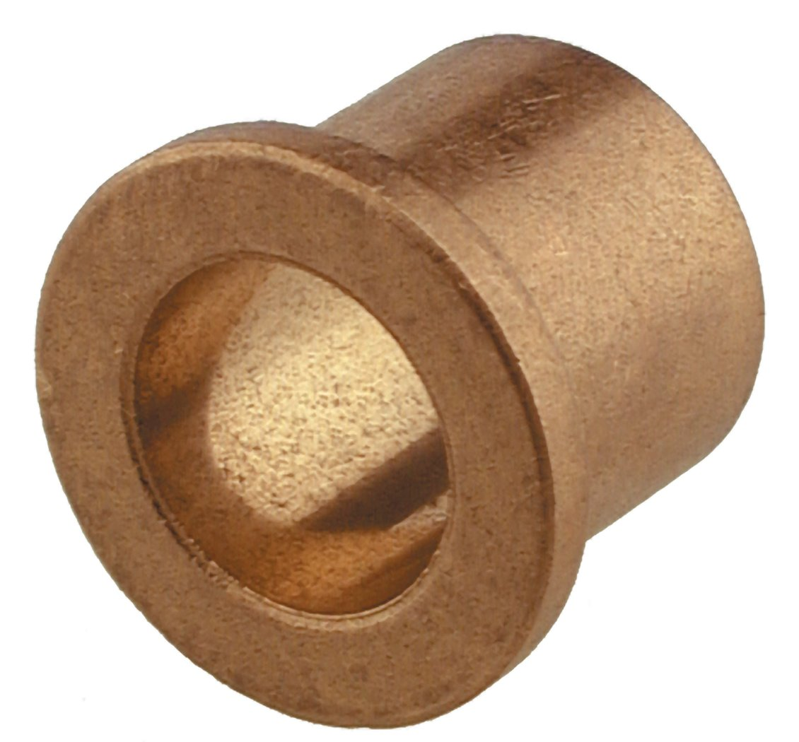 The Hillman Group 58617 Metric Bronze Flange Bearing, 25mm x 32mm x 20mm, 3-Pack
