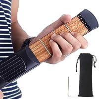 Mini Pocket Guitar 6Frets String Chord Trainer Herramienta