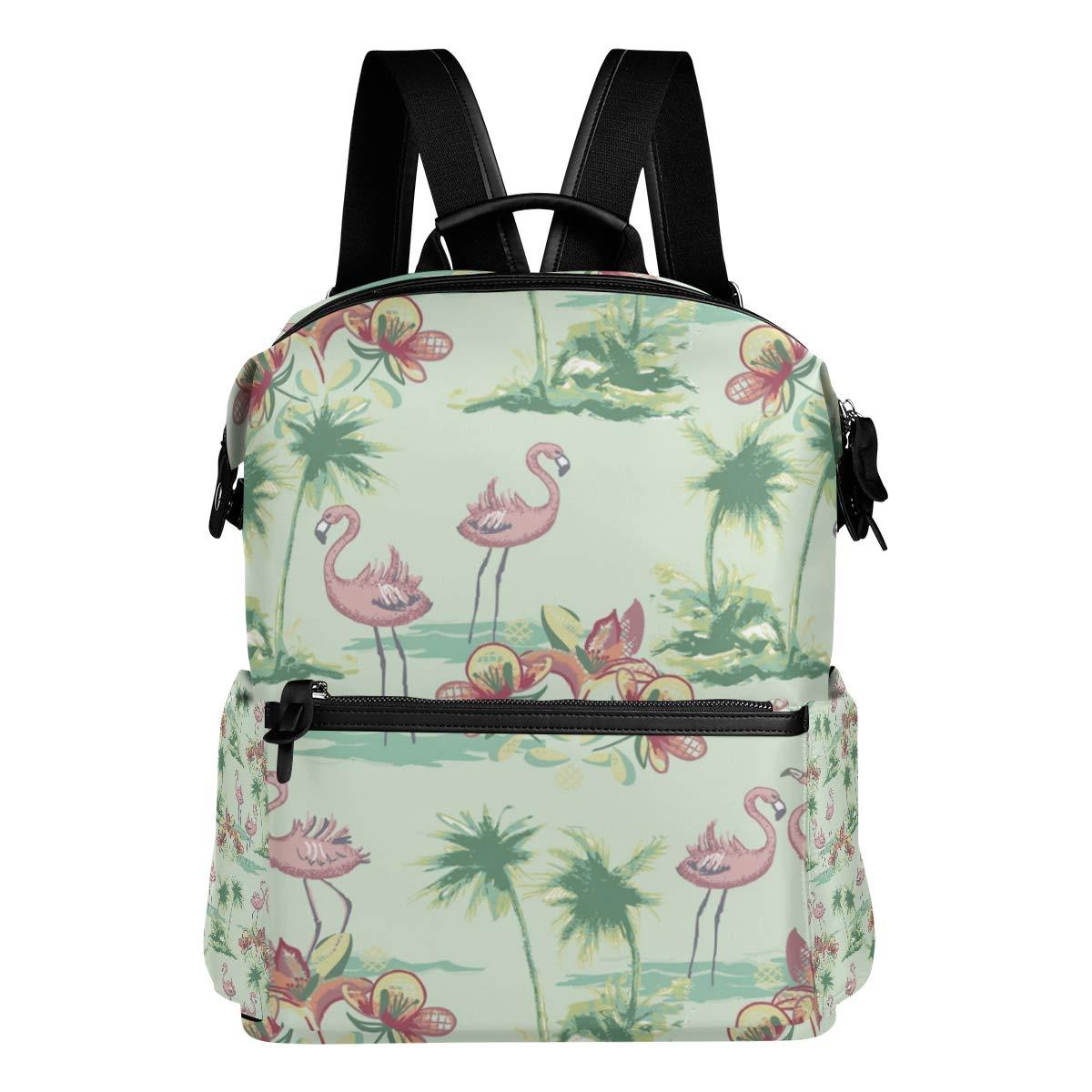 TIZORAX Mochila Floral Escolar Bolsas Colegio de Flamingo Bolsas de nnrx4Bg