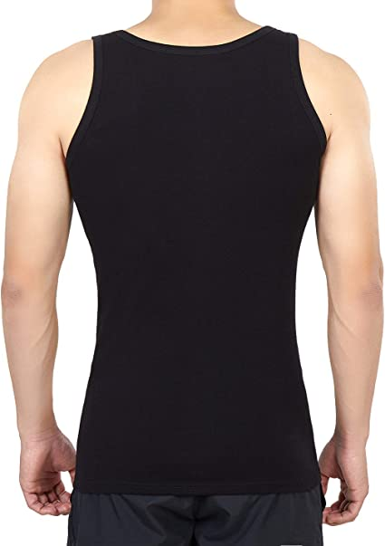 FALARY Camiseta de Tirantes para Hombre Pack de 5 de Algod/ón 100/% m/ás Colores