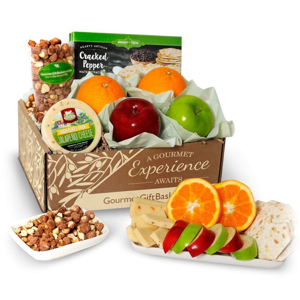 GourmetGiftBaskets.com Fruit Basket - Gourmet Gift Baskets Prime - Food Gift Baskets Prime - Fruit Baskets - Gift Baskets - Birthday, Christmas, Sympathy, Men, Women, Family by GourmetGiftBaskets.com (Image #1)
