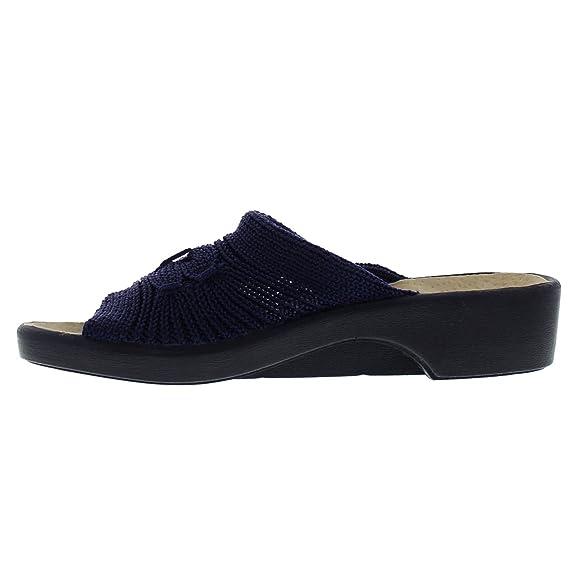 Arcopedico Splash, Damen Peep Toes , Schwarz - schwarz - Größe: 36