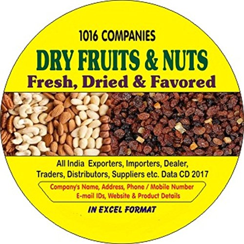 Amazon com: Dry Fruits & Nuts Companies Data