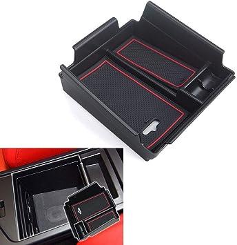 For Alfa Romeo Giulia 2017-2019 Car Front Door Armrest Storage Box Case Holder