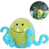 Su-luoyu Jouet d'eau en Forme de Pieuvre Fontaine à eau en Plein Air Amusant Jouet pour Enfants