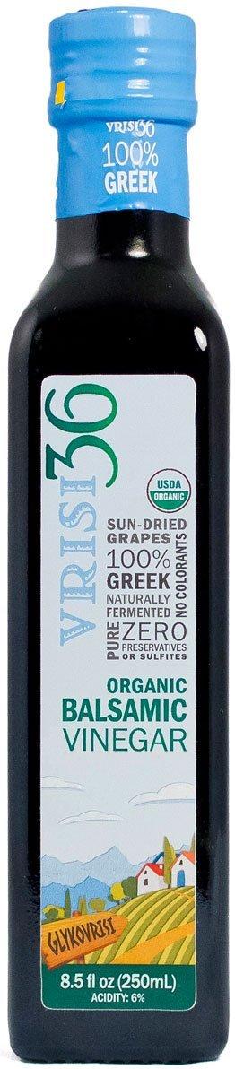 Vrisi36 Organic Balsamic Vinegar, 8.5 fl oz