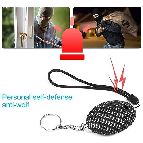 sdfghzsedfgsdfg Llavero portátil de Alarma de Seguridad ...