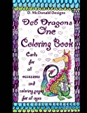 img - for D. McDonald Designs Deb Dragons One Coloring Book book / textbook / text book