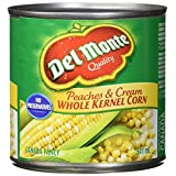 Del Monte Corn Whole Kernel Peaches and Cream, 341 ml, Pack of 12