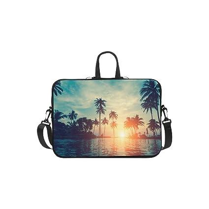 Amazon.com: Bolsa de computadora portátil, calavera mexicana ...