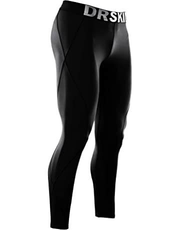 2e44bf5d68 DRSKIN Compression Cool Dry Sports Tights Pants Baselayer Running Leggings  Yoga Rashguard Men