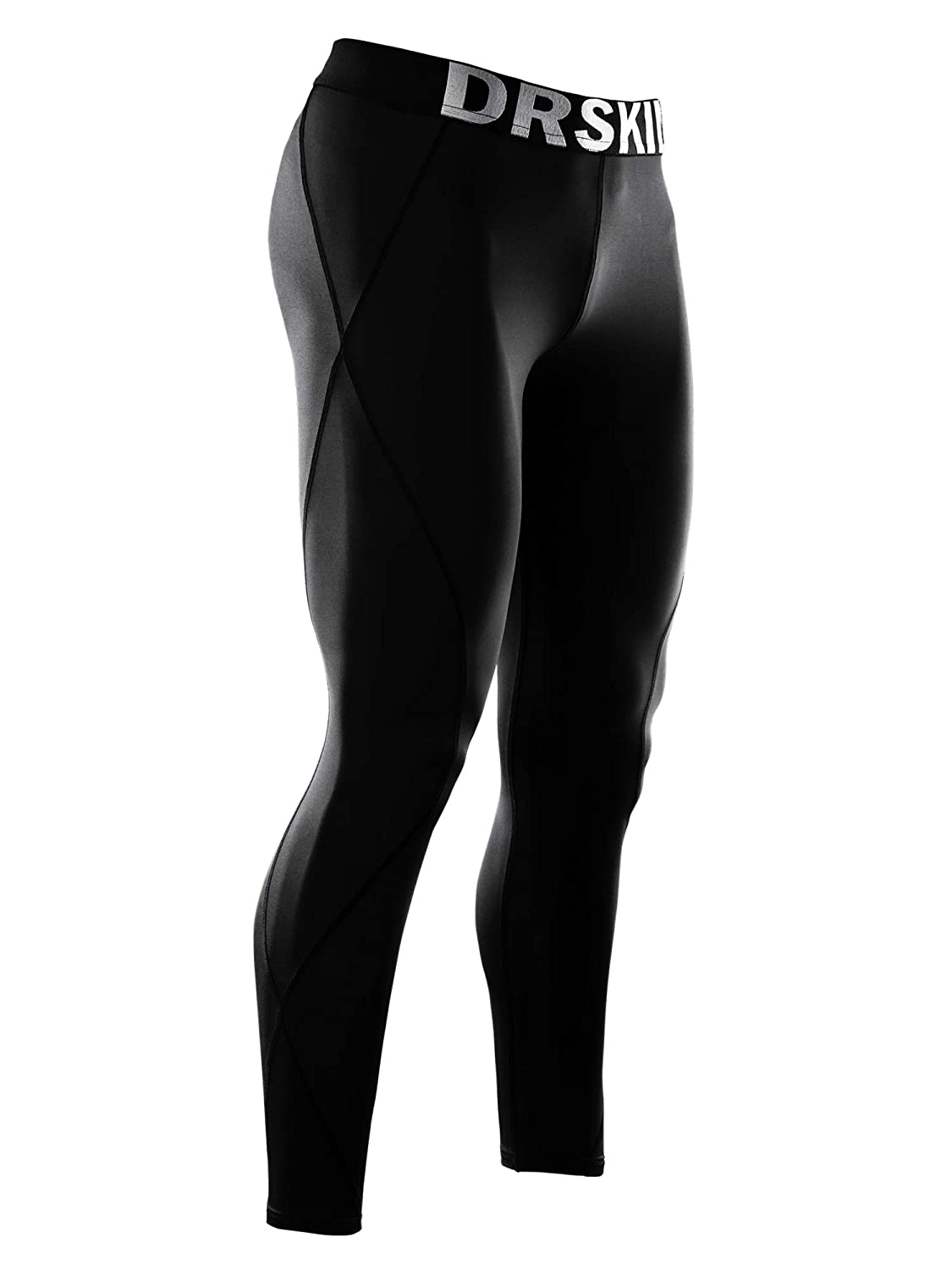 7ccb1fe2f DRSKIN Men's Thermal Wintergear Fleece ColdGear Compression Tight Base Layer  Long Under Pants