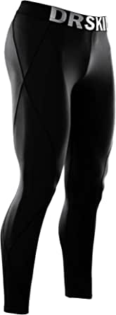 DRSKIN Compression Cool Dry Sports Tights Pants Baselayer Running Leggings Yoga Womens
