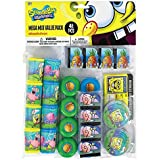 Silly Spongebob Party Mega Mix Assorted Favours, Plastic, Pack of 48