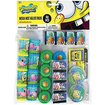 SpongeBob Favor Pack 100pc Amscan 390681