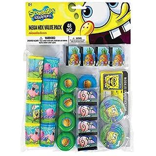 Mega Mix Party Favor | SpongeBob Collection | Party Accessory