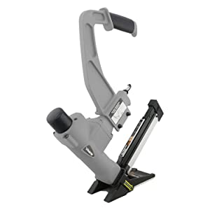 NuMax SFL618 3-in-1 Pneumatic Flooring Stapler/Nailer with White Rubber Mallet Ergonomic & Lightweight Pneumatic Nail Gun for T-Cleats, L-Cleats & Staples with Replaceable Base Plates