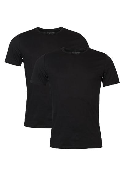 Jockey 2-Pack Siguiente Gen 3D Las Innovaciones De Las Camisetas, Negro Pequeño