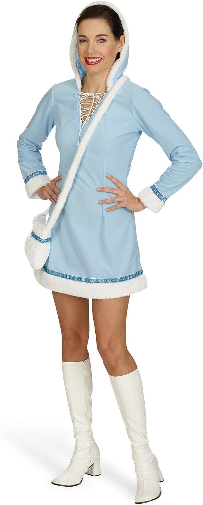 Disfraz Sexy Mini Vestido Esquimal entallado corta de carnaval ...