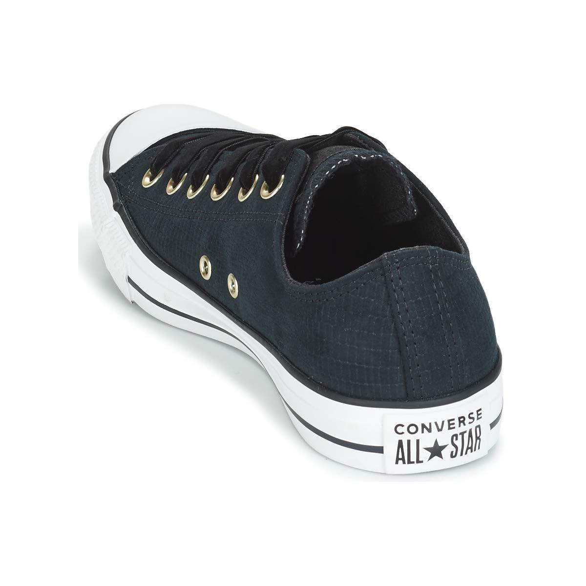 Converse Damen CTAS Ox (schwarz/schwarz/Weiß Fitnessschuhe Schwarz (schwarz/schwarz/Weiß Ox 001) b41826