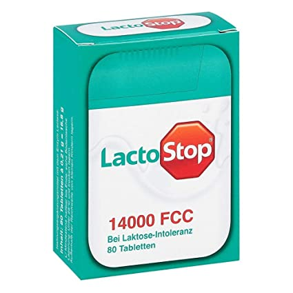 lacto Stop 14.000 pastillas en dispensador, 80 St.