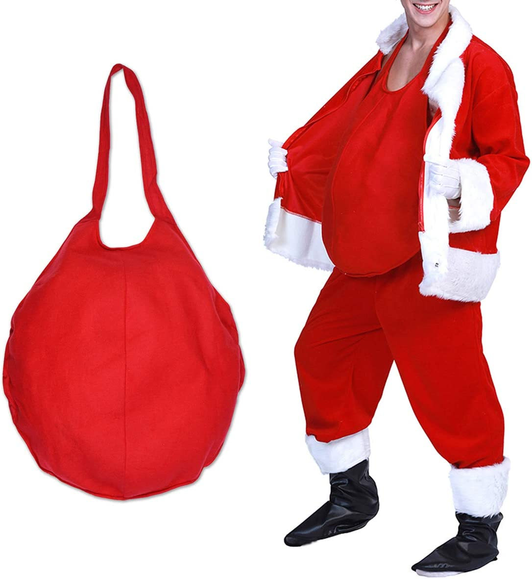 Feynman Santa Claus Fake Belly Christmas Costume Accessories