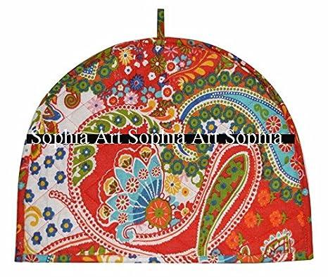 Indian Mandala Tea Cozy Cotton Decorative Tea Cosy Vintage TeaPot Tea Cozy Cover
