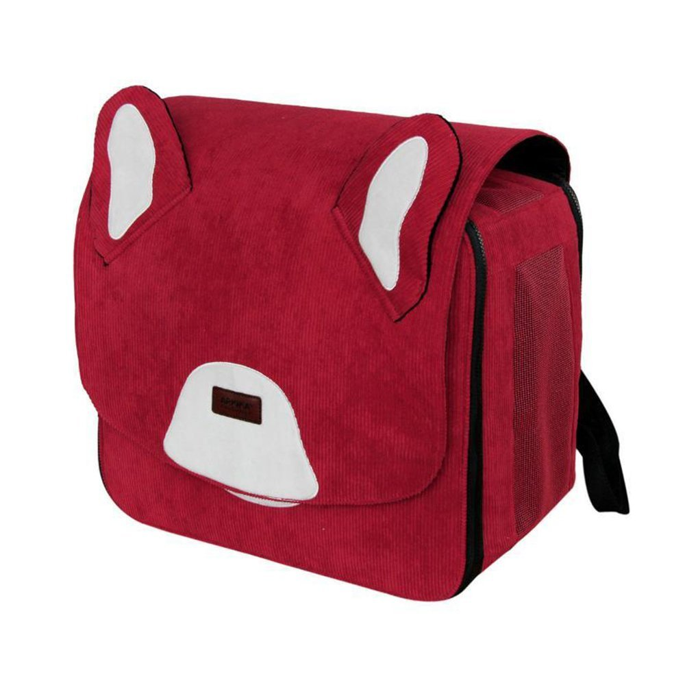 C Kaxima Pet Carrier Backpack Polyester wear-resistant double shoulder breathable large space for 11kg below