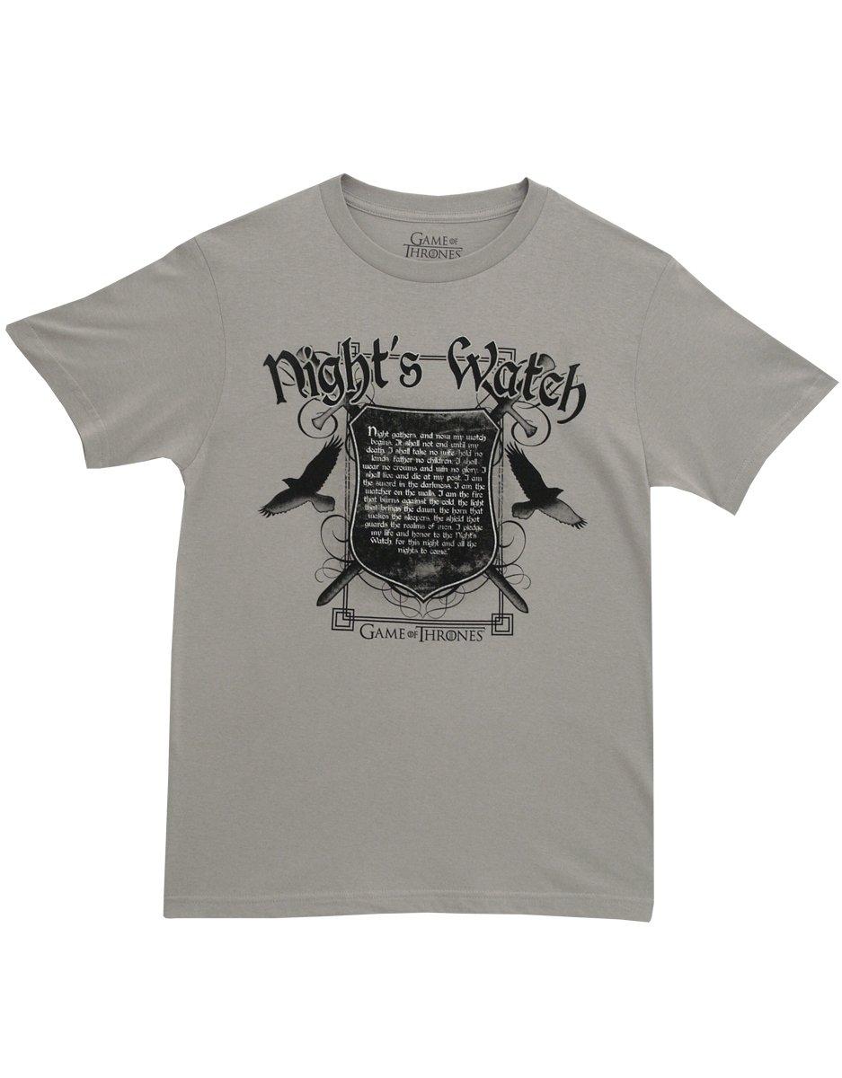 S Nights Watch Oath Adult T Shirt 3769