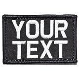 #6: Customizable Text Patch - 2x3 Morale Patch - Black