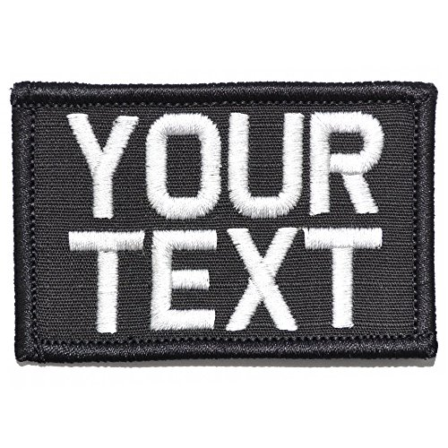 Customizable Text Patch - 2x3 Morale Patch - - Patch Text