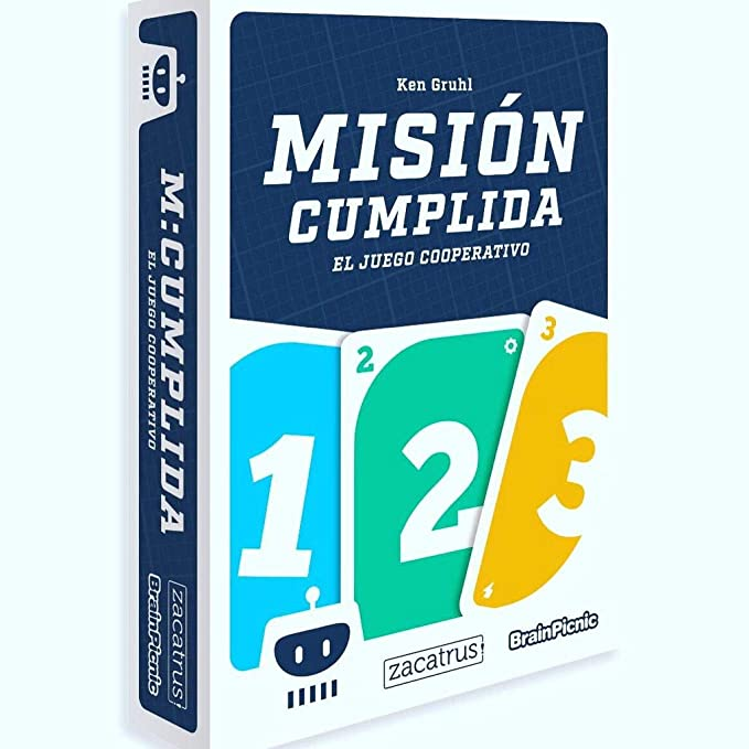 Brain Picnic Mision Cumplida - Juego de Mesa [Castellano]: Amazon ...
