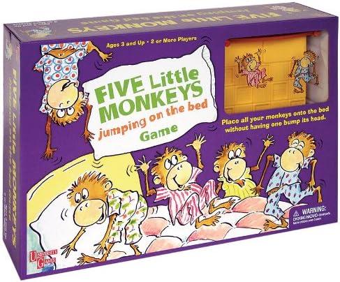 FIVE LITTLE MONKEYS GAME: Amazon.es: Juguetes y juegos