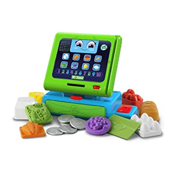 ebc5ed2dd LeapFrog Count Along Cash Register (English Version), Cash Registers - Amazon  Canada
