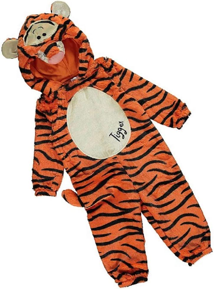 George Disney Winnie the Pooh Tigger Kids Fancy Dress Costume World Book Day
