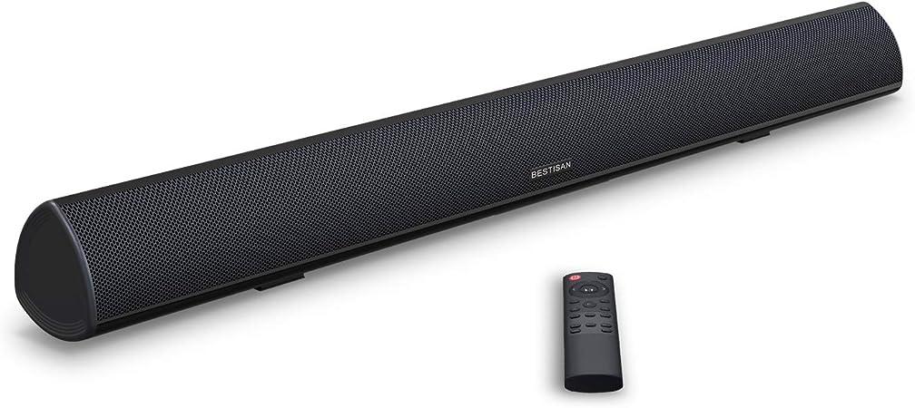 Soundbar BESTISAN TV Sound Bar With Dual Bass