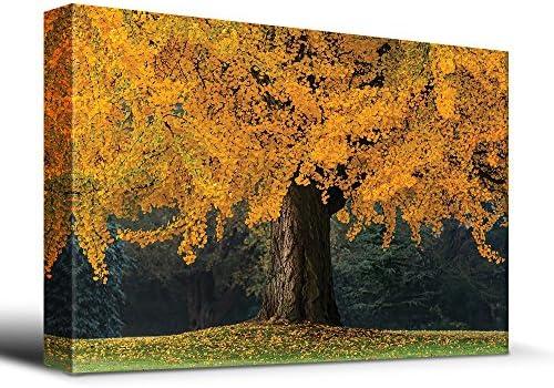 Majestic Ancient Yellow Tree