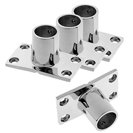 """Stainless Boat hand rail 90 degree elbow 1"""" 25mm"""