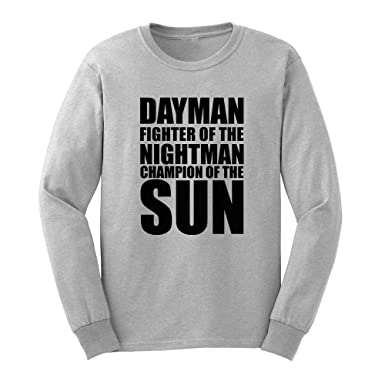 e8f58208 Amazon.com: Mens Dayman Fighter Of The Nightman Long Sleeve Adult T-Shirts  Casual Men Tee: Clothing