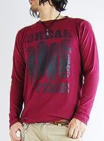 (アーケード) ARCADE アメカジ カレッジロゴ ロンT ロングTシャツ メンズ