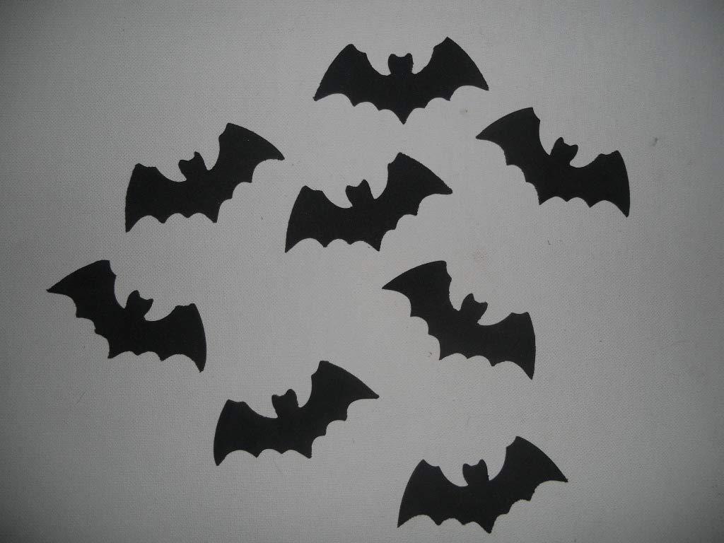 8 Murciélagos para decorar en halloween de goma eva de color ...