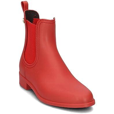 Lemon Jelly SPLASH05REDMATE Rouge - Chaussures Bottes de pluie Femme