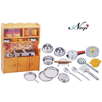 Buy Negi 24pcs Mini Stainless Steel Utensils Non Toxic Indian