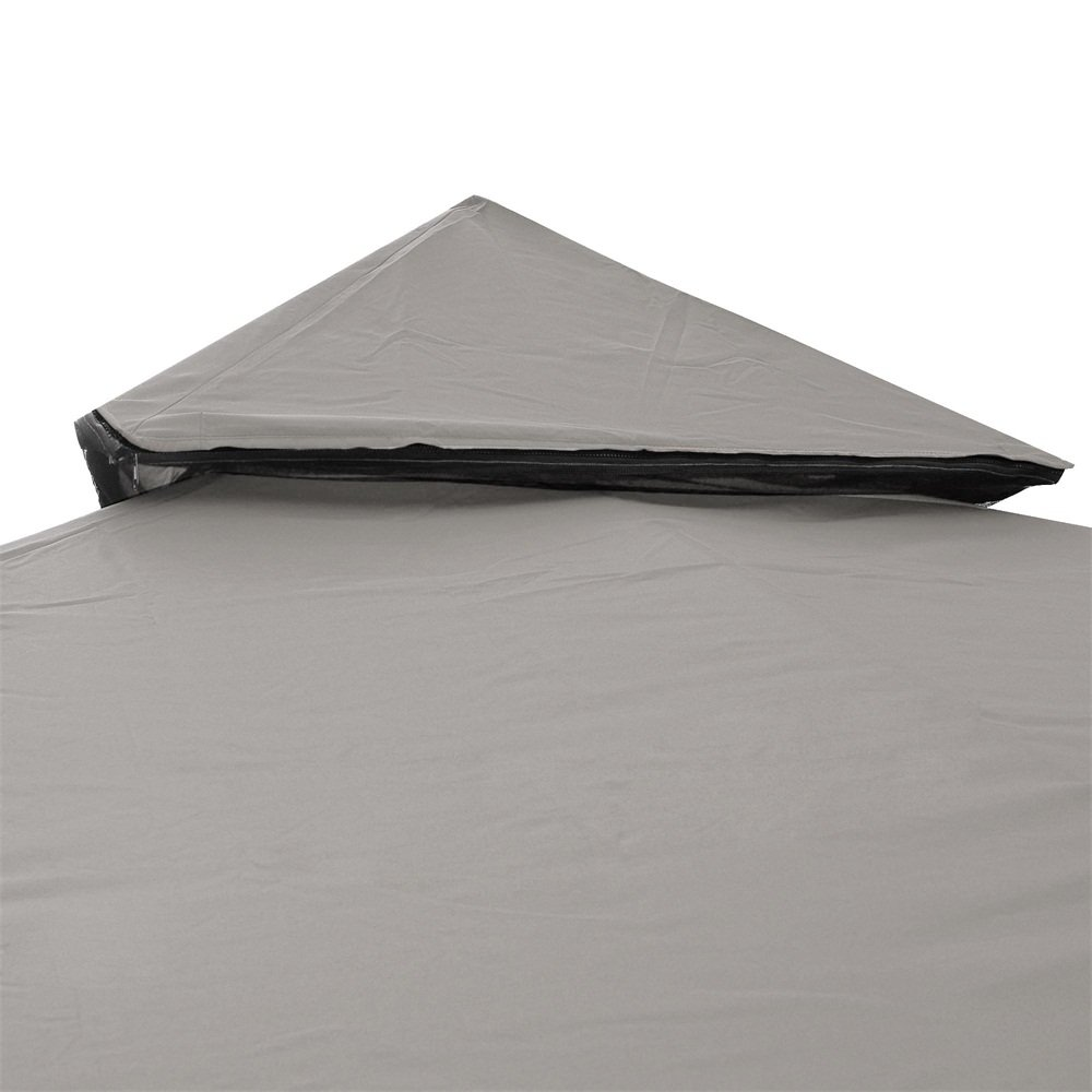 Yescom 10'x10' 2-Tier Waterproof Gazebo Top Replacement UV30+ 200g/sqm Outdoor Patio Canopy Cover by Yescom (Image #4)