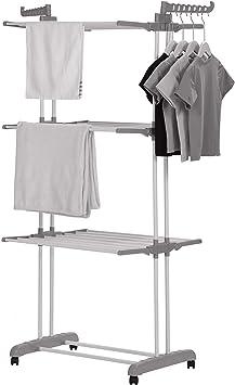 Klappbar Wäscheständer Kleiderstange Wäschetrockner Kleiderständer Wäscheturm