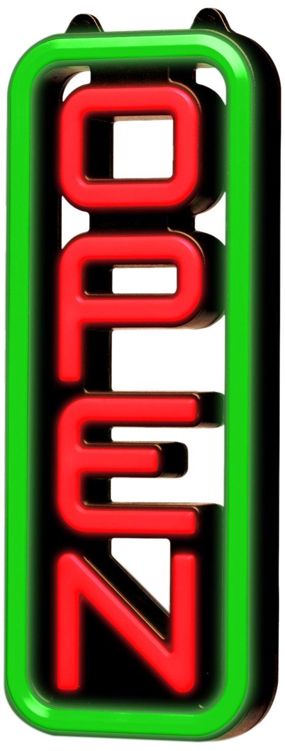 Greenlight Innovations Vertical Open Sign (GLI 1053) Greenlight Innovations Inc.