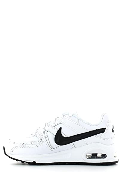 Nike Air Max Command Leather (PS) Schuhe white black 32