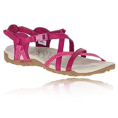 bd5fb16d7e2b Merrell Women s Terran Lattice Ii Heels Sandals  Amazon.co.uk  Shoes   Bags