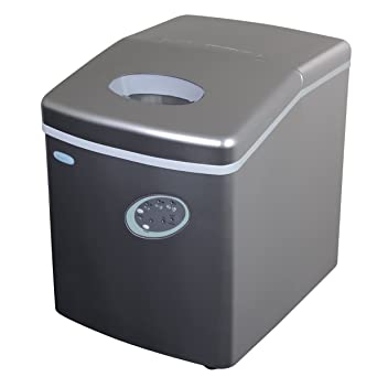 Good NewAir AI 100S 28 Pound Portable Ice Maker, Silver