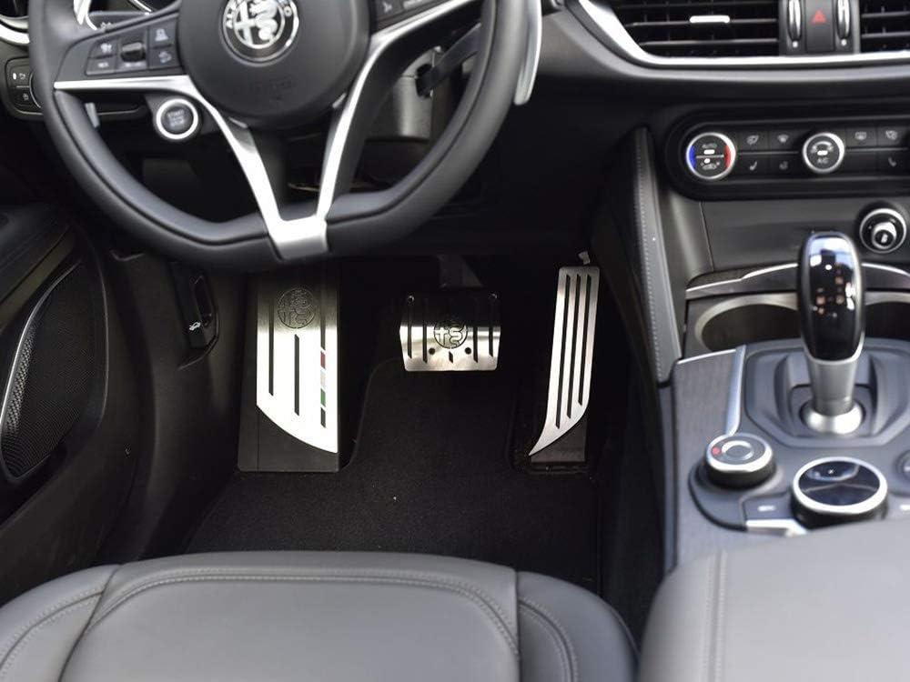 Pedale per auto per Alfa Romeo Giulia Stelvio Andifany pedaliera
